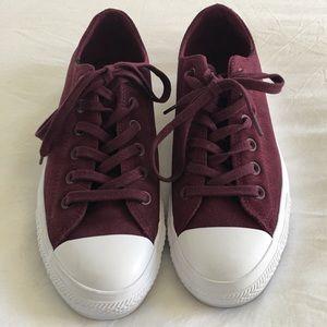 Converse All Stars Women's Plush Suede Ox Sneaker